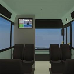 Tren içi Yolcu Bilgilendirme Sistemi